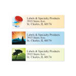 Nonprofit return address labels