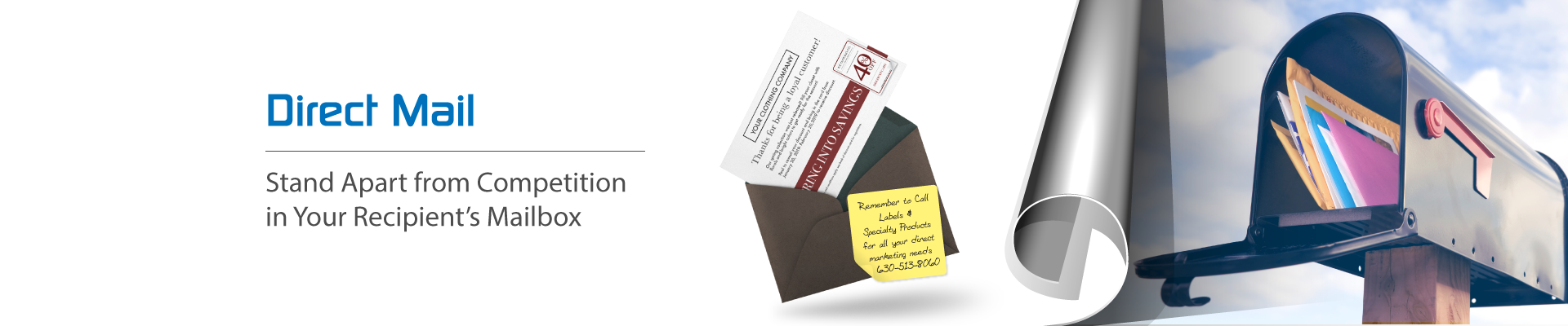 promotional direct mail